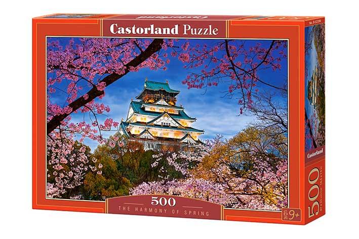 Puzzle Castorland La Armonía de la Primavera de 500 Piezas