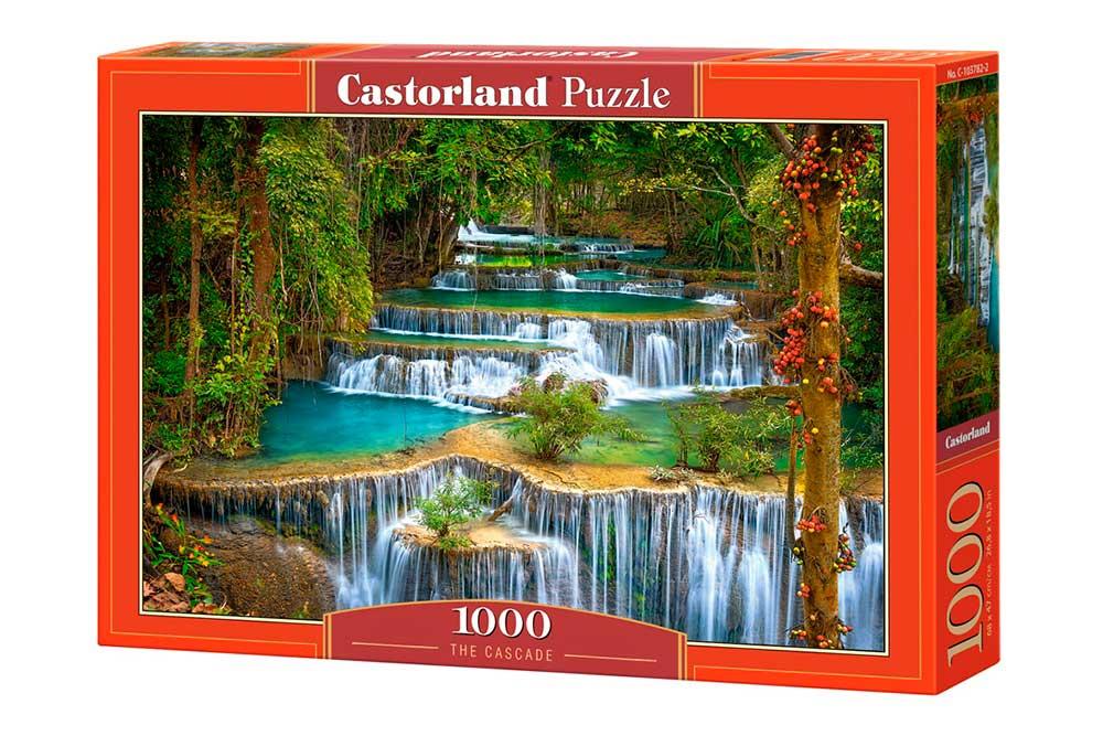 Puzzle Castorland La Cascada de 1000 Piezas