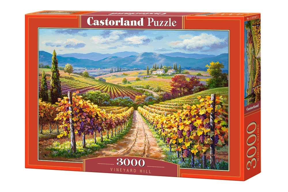Puzzle Castorland La Colina del Viñedo de 3000 Piezas