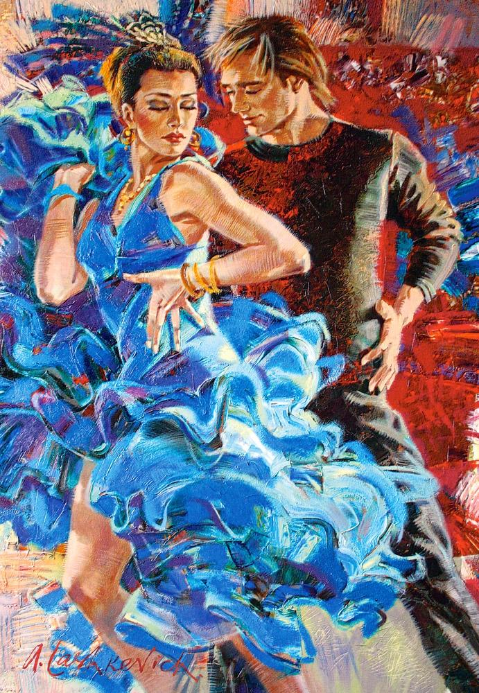Puzzle Castorland La Danza Turka de 1000 Piezas