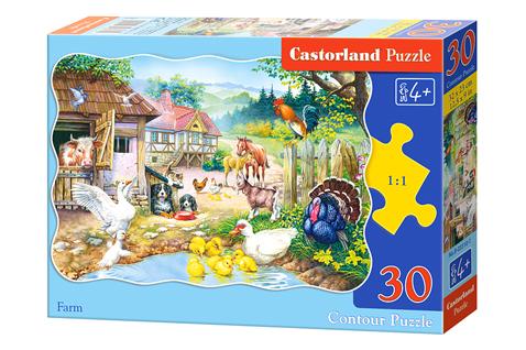 Puzzle Castorland La Granja de 30 Piezas