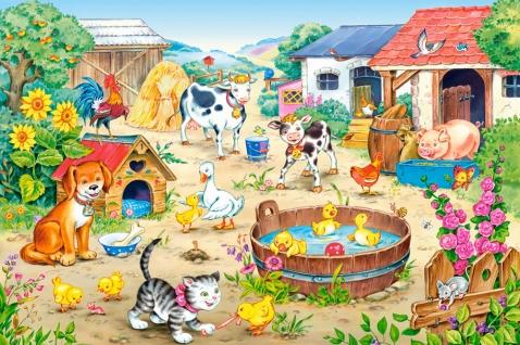 Puzzle Castorland La Granja de 60 Piezas