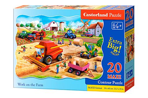 Puzzle Castorland  La Granja MAXI XXL de 20 Piezas
