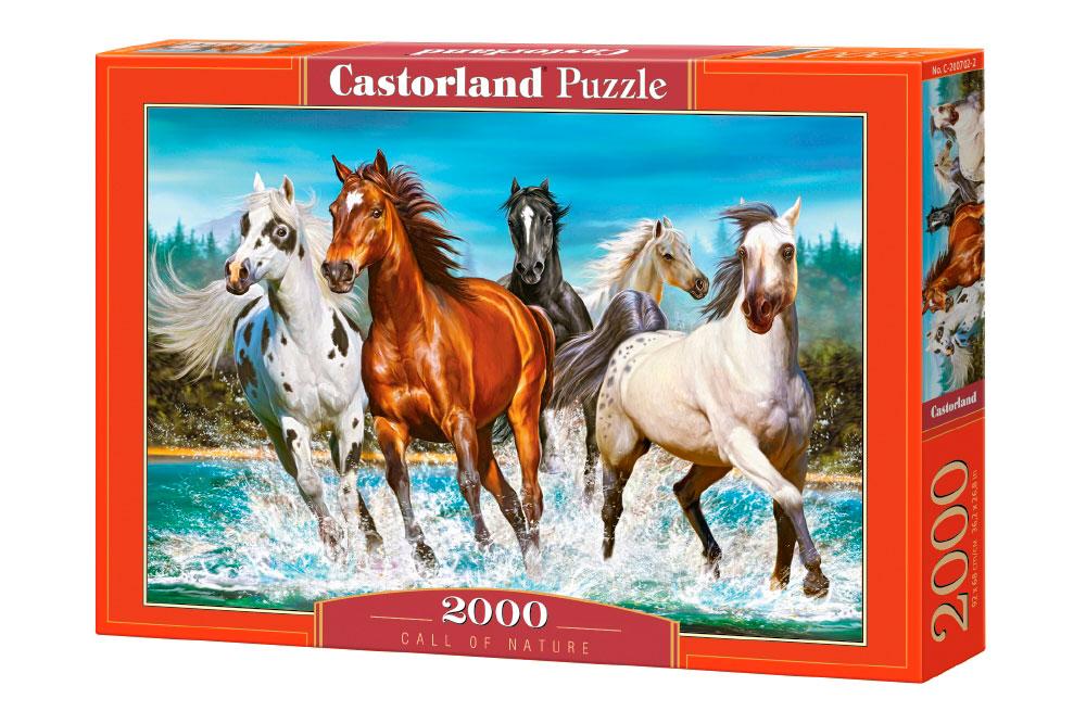Puzzle Castorland La Llamada de la Naturaleza de 2000 Piezas