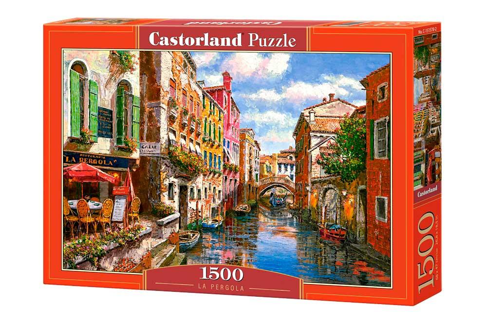 Puzzle Castorland La Pérgola 1500 Piezas