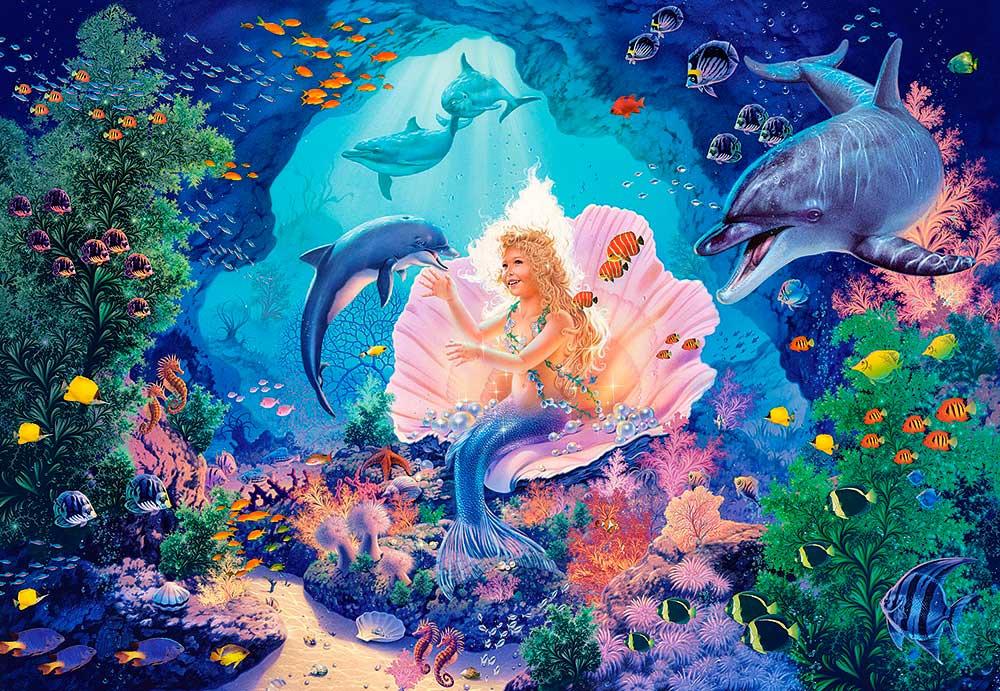 Puzzle Castorland La Princesa Perla de 1000 Piezas