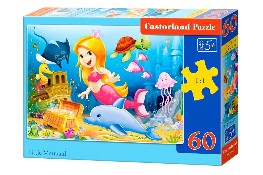 Puzzle Castorland La Sirenita de 60 Piezas
