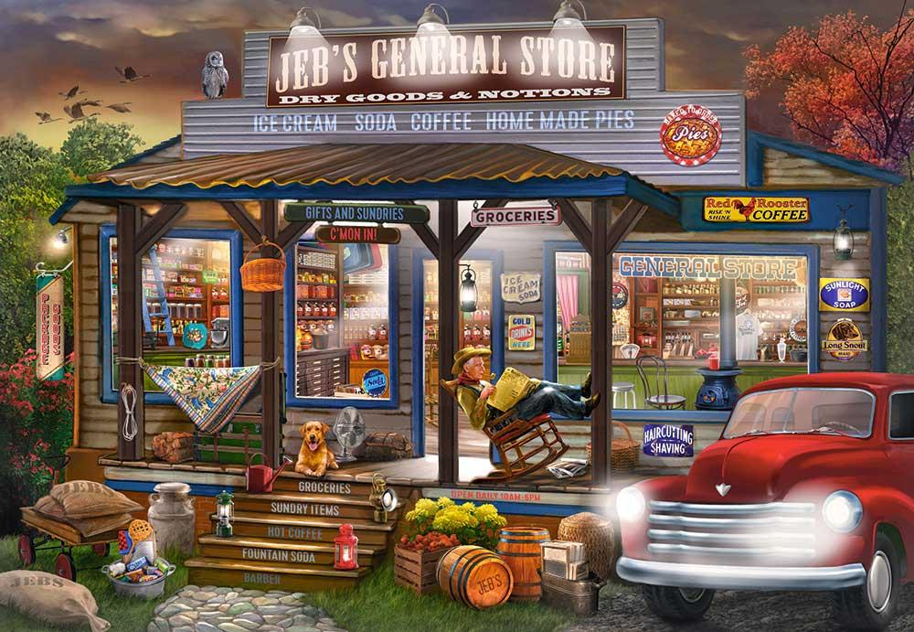 Puzzle Castorland La Tienda de Jeb de 1000 Piezas