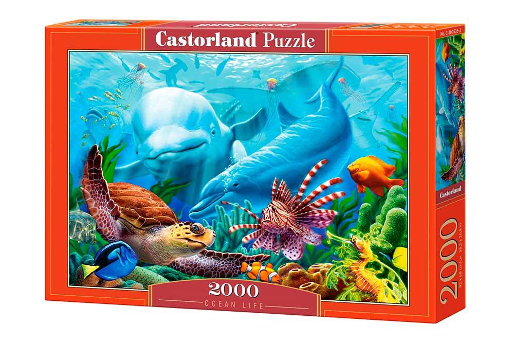 Puzzle Castorland La Vida en el Océano de 2000 Piezas