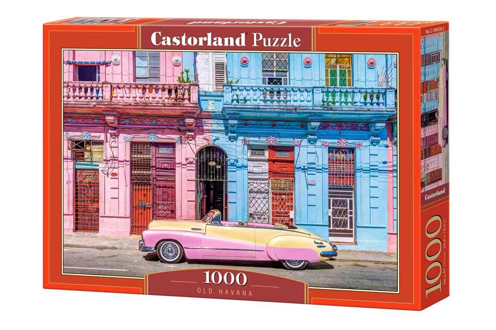 Puzzle Castorland La Vieja Habana de 1000 Piezas