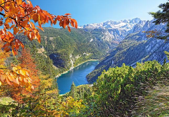 Puzzle Castorland Lago Azul, Los Alpes de 2000 Piezas
