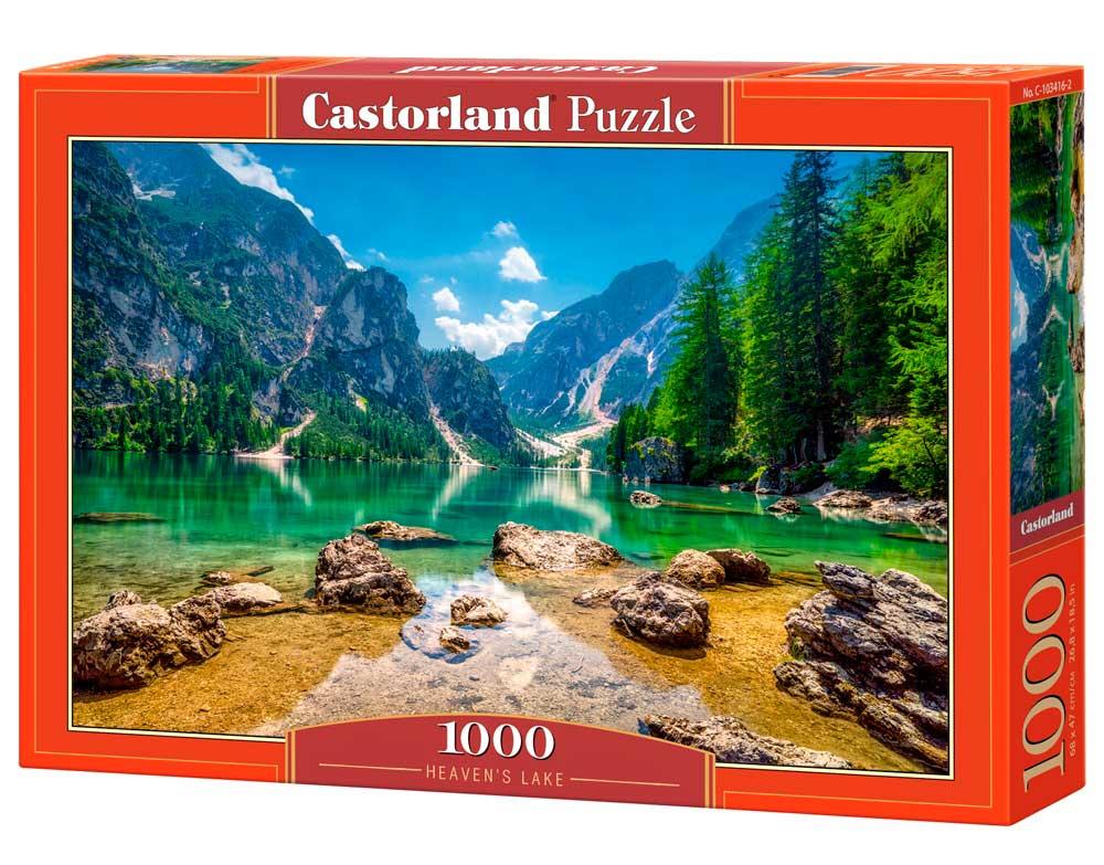 Puzzle Castorland Lago Celestial de 1000 Piezas