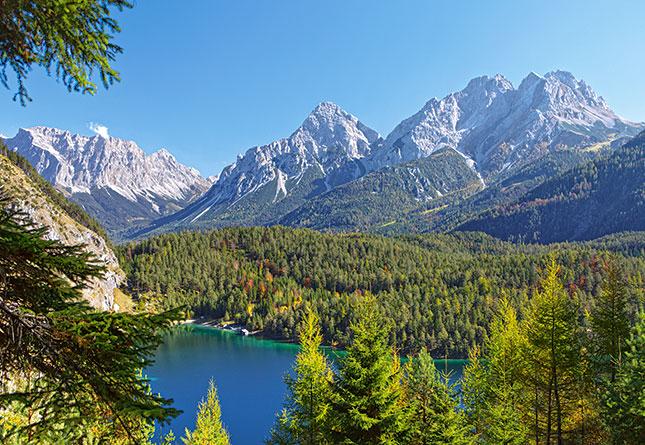 Puzzle Castorland Lago en los Alpes, Austria de 3000 Piezas