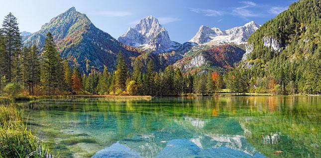 Puzzle Castorland Lago en los Alpes de 4000 Piezas