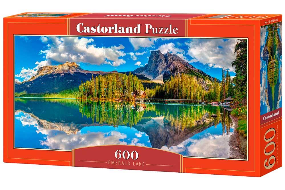 Puzzle Castorland Lago Esmeralda de 600 Piezas