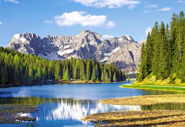 Puzzle Castorland Lago Misurina, Italia de 3000 Piezas