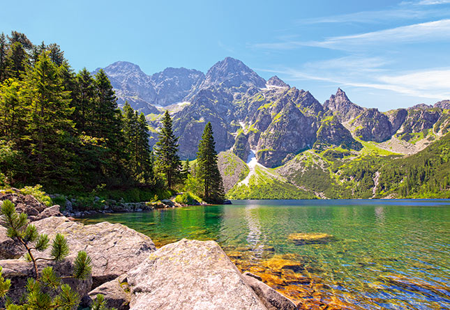 Puzzle Castorland Lago Morskie Oko, Tatras, Polonia de 1000 Piez