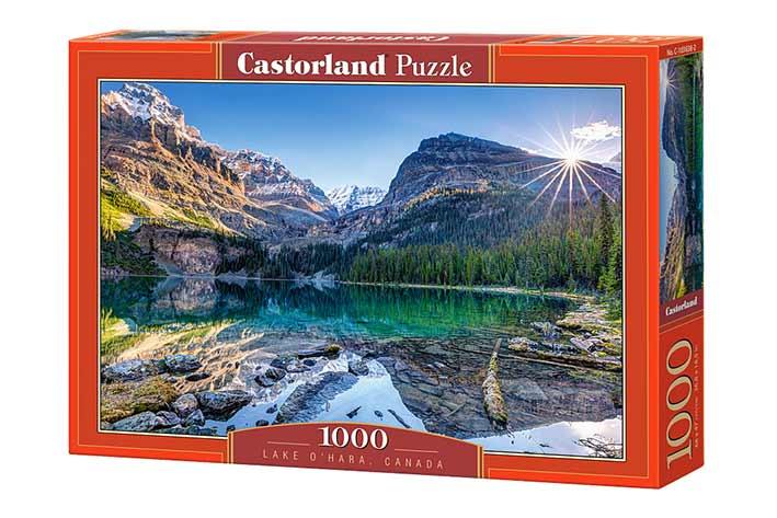 Puzzle Castorland Lago O'Hara Canada de 1000 Piezas