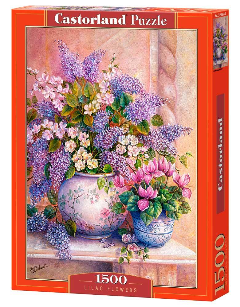 Puzzle Castorland Lilas de 1500 Piezas