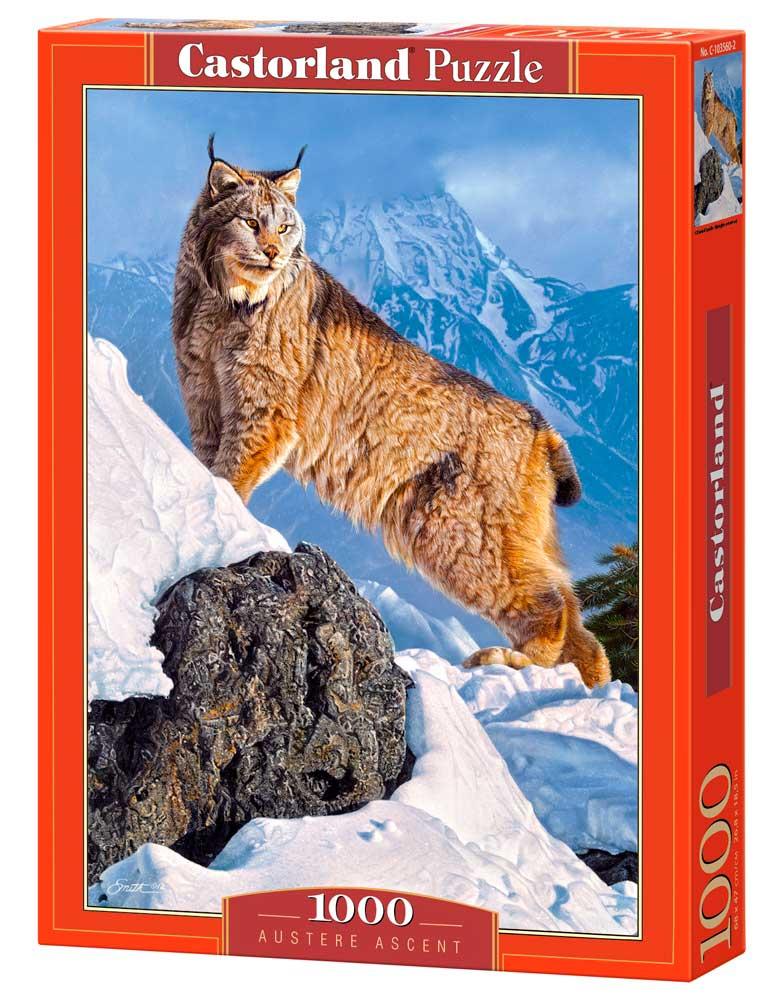 Puzzle Castorland Lince en la Montaña de 1000 Piezas