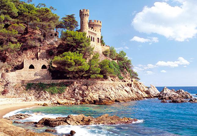 Puzzle Castorland Lloret de Mar, España de 1000 Piezas