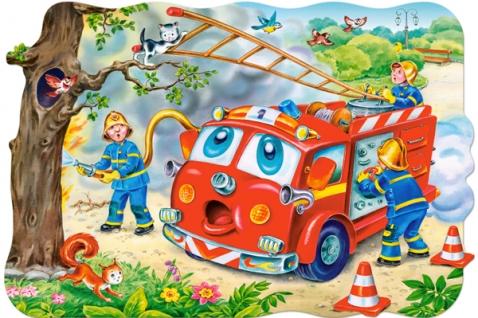 Puzzle Castorland  Los Bomberos MAXI XXL de 20 Piezas