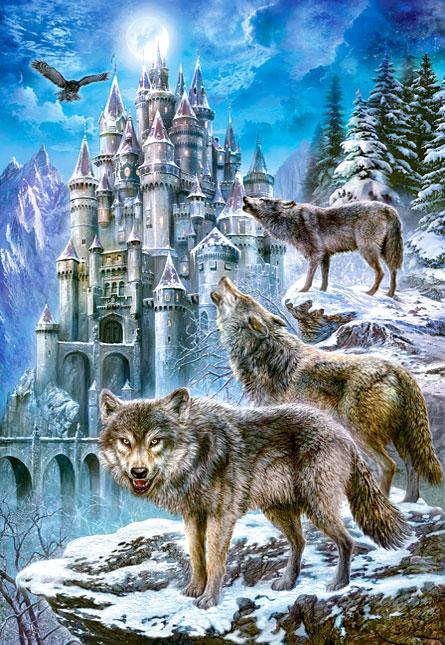 Puzzle Castorland Los Guardianes del Castillo de 1500 Piezas