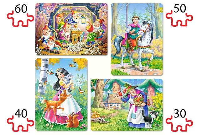 Puzzle Castorland Los Siete Enanitos y BlancanievesProgresivo 30