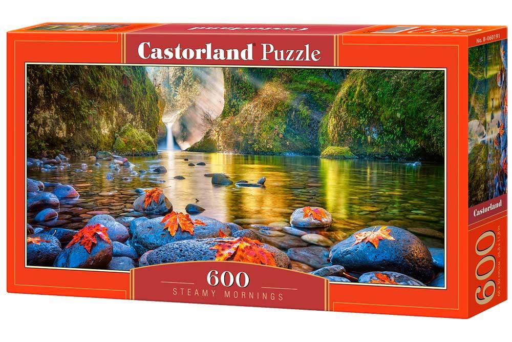 Puzzle Castorland Mañanas Tranquilas de 600 Piezas