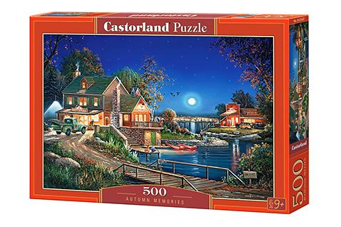 Puzzle Castorland Memorias de Otoño de 500 Piezas