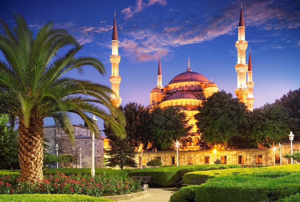 Puzzle Castorland Mezquita Azul, Turquía de 1000 Piezas