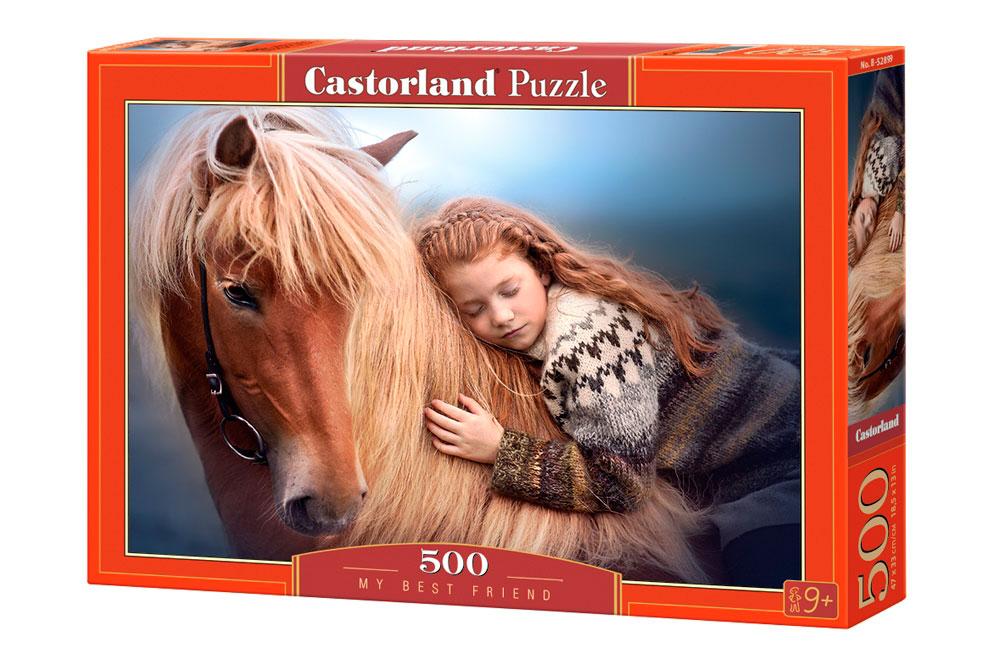 Puzzle Castorland Mi Mejor Amigo de 500 Piezas
