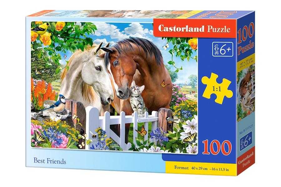 Puzzle Castorland Mis Mejores Amigos de 100 Piezas