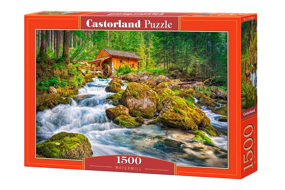 Puzzle Castorland Molino de Agua de 1500 Piezas