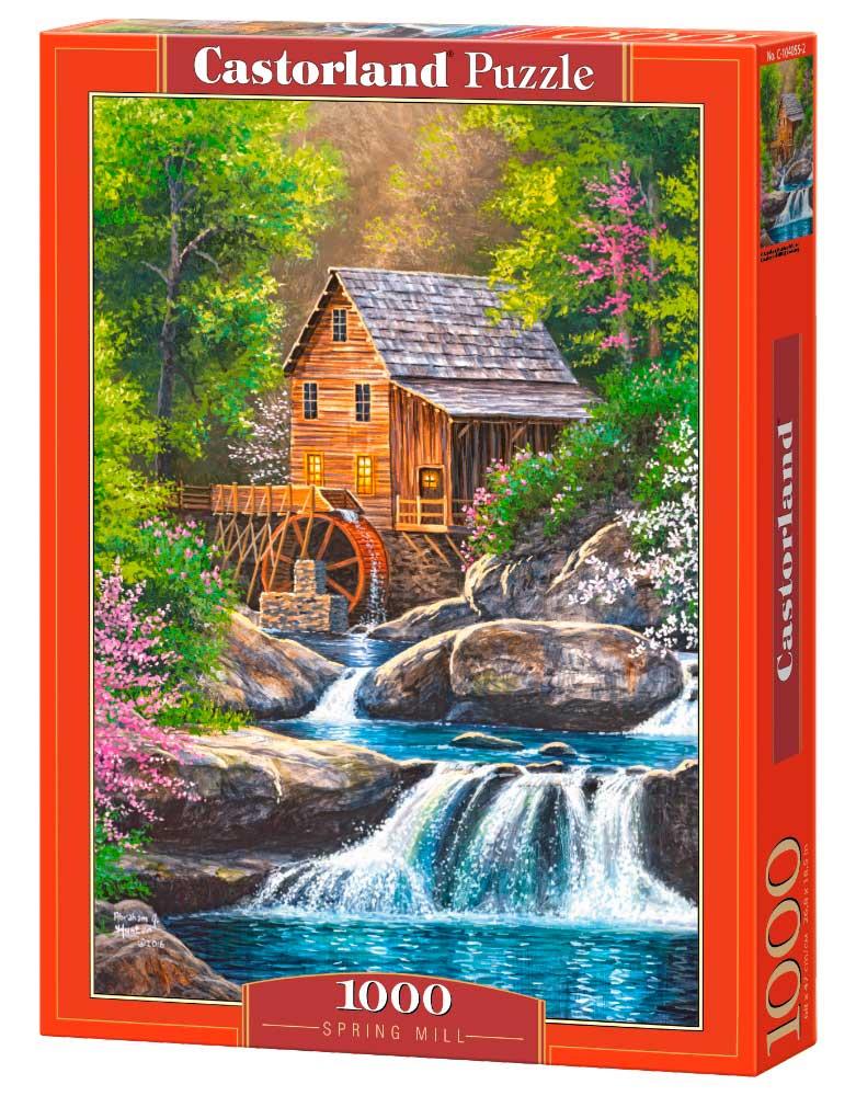 Puzzle Castorland Molino de Primavera de 1000 Piezas