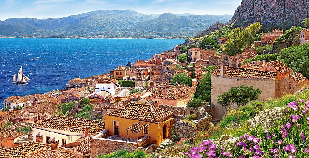 Puzzle Castorland Monemvasia, Grecia de 4000 Piezas