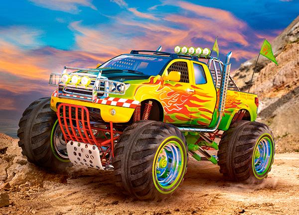 Puzzle Castorland Monster Truck de 260 Piezas