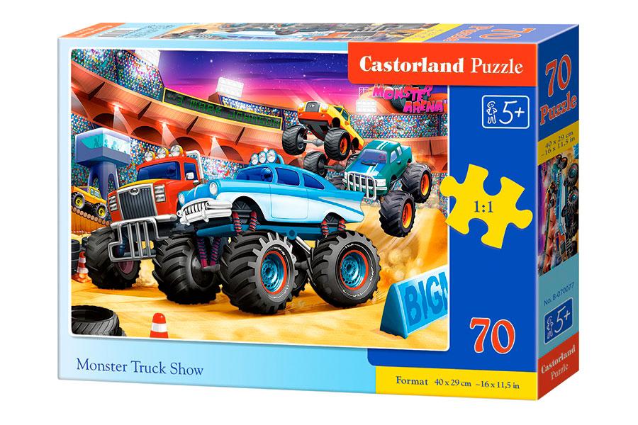 Puzzle Castorland Monster Truck Show de 70 Piezas
