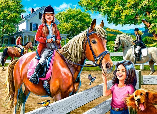 Puzzle Castorland Equitación de 300 Piezas