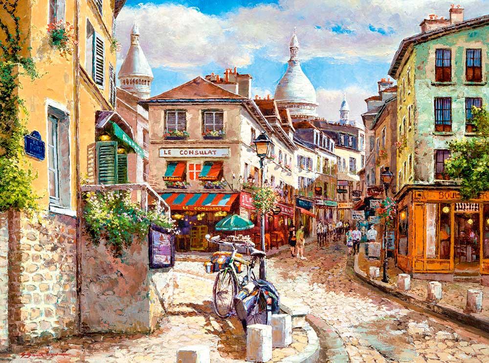 Puzzle Castorland Montmartre Sacre Coeur de 3000 Piezas