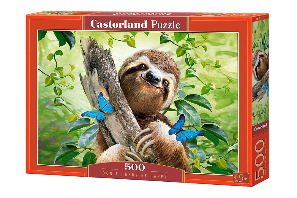 Puzzle Castorland No Corras, Sé Feliz de 500 Piezas