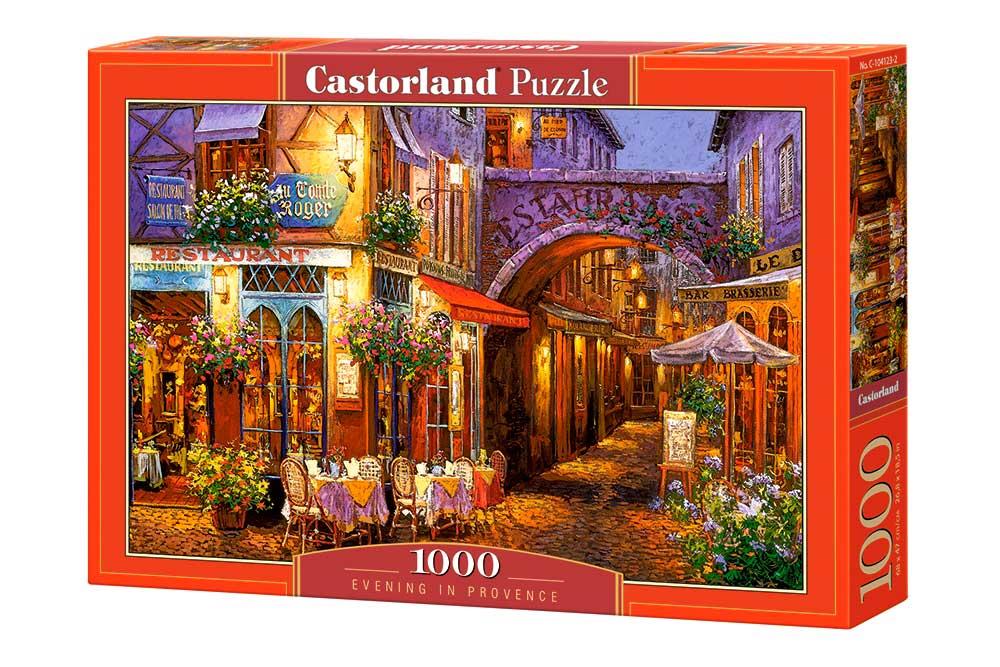 Puzzle Castorland Noche en la Provenza de 1000 Piezas