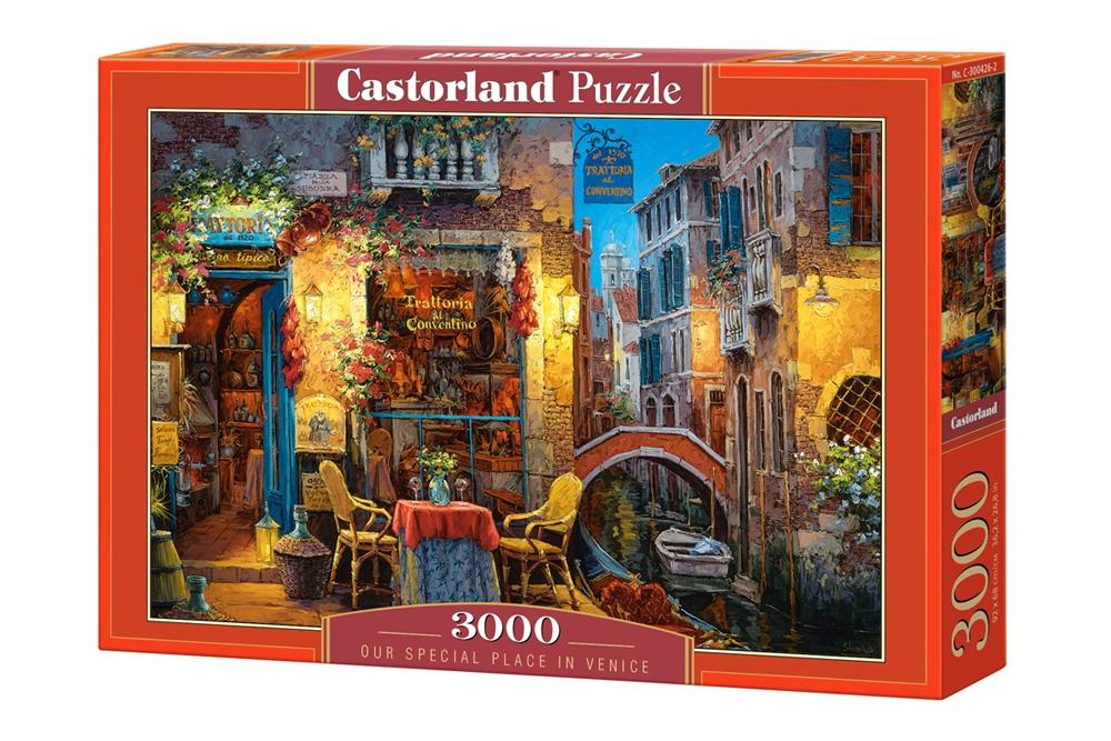Puzzle Castorland Nuestro Rincón Especial de Venecia de 3000 Pie