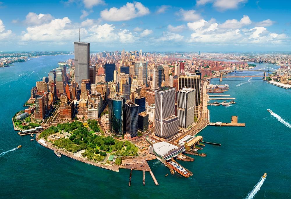 Puzzle Castorland Nueva York antes del 11-S de 2000 Piezas