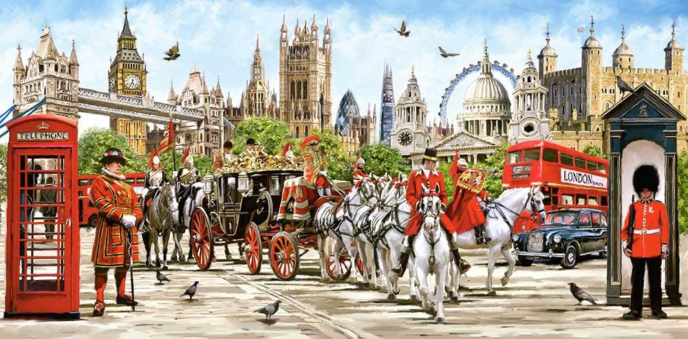 Puzzle Castorland Orgullo de Londres de 4000 Piezas
