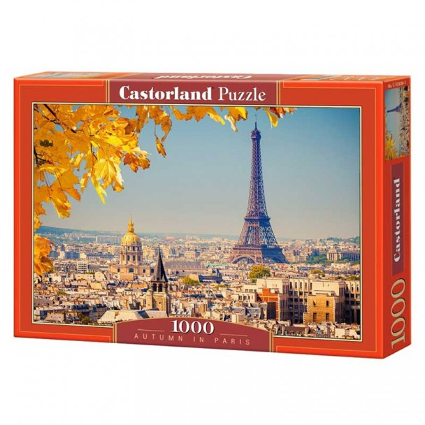 Puzzle Castorland Otoño en París de 1000 Piezas