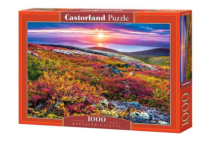 Puzzle Castorland Paleta de Flores del Norte de 1000 Piezas