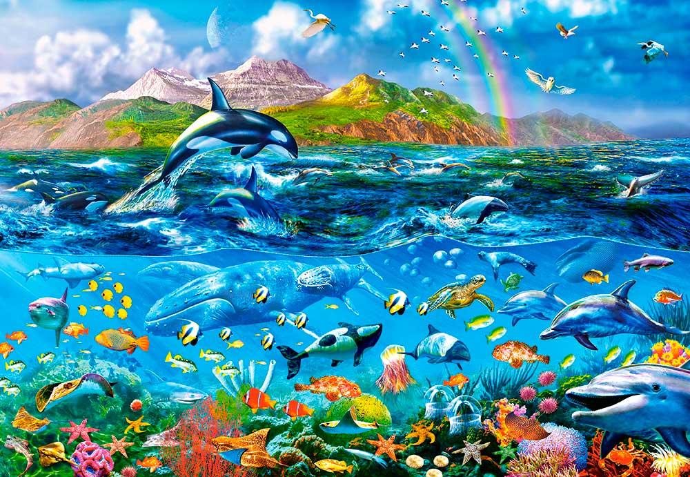 Puzzle Castorland Panorama Oceánico de 1000 Piezas