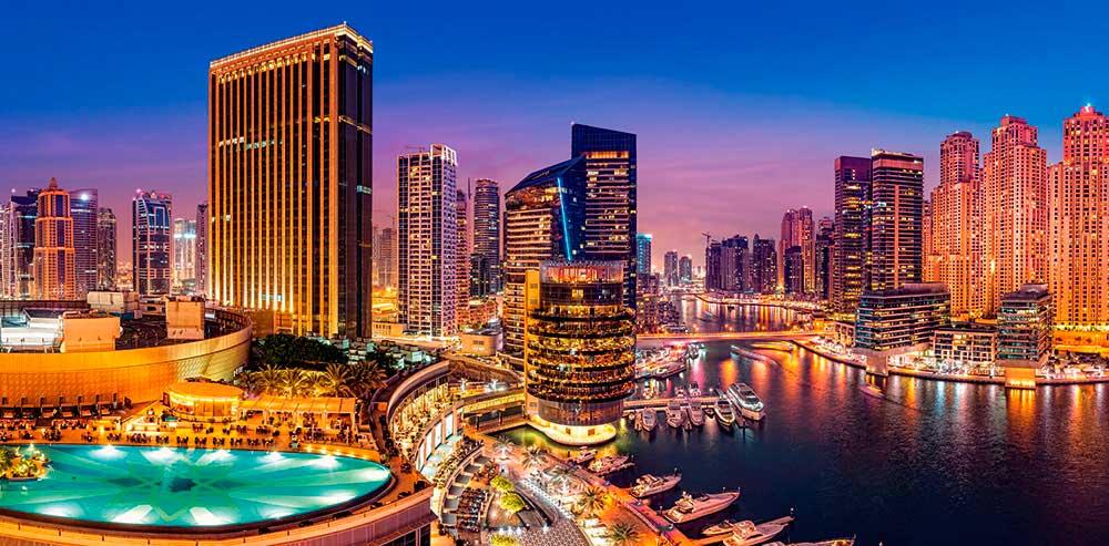 Puzzle Castorland Panorámica Marina de Dubai de 4000 Piezas