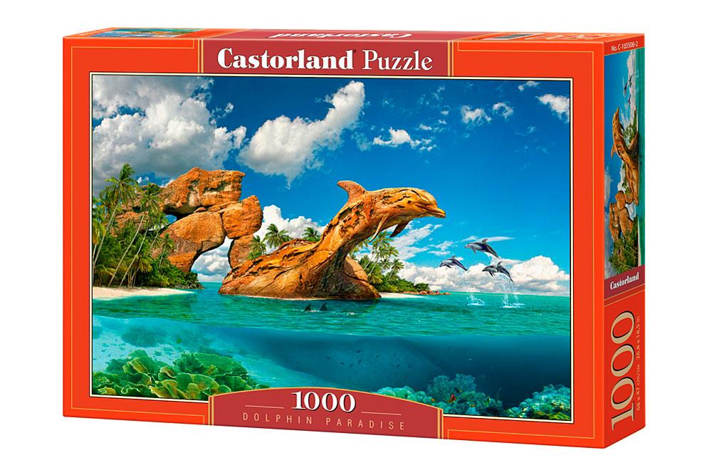 Puzzle Castorland Paraíso de los Delfines de 1000 Piezas